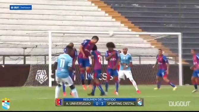 Sporting Cristal's 3-0 win at Alianza UDH