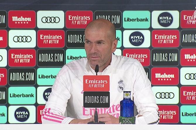 La respuesta de Zidane a un posible trueque de Mbappé por Vinicius