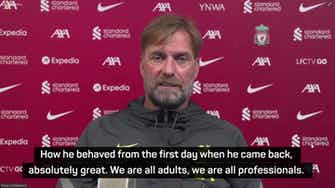 Preview image for Klopp optimistic on Salah contract, wants 'insane' goal records to continue