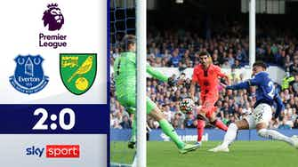 Vorschaubild für Everton feiert 4. Heimsieg in Folge | Everton - Norwich City 2:0