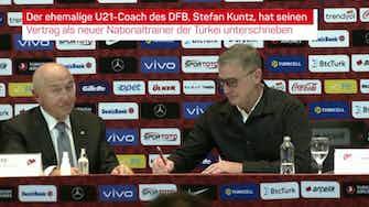 Vorschaubild für Kuntz vorgestellt: Das sagt der neue Türkei-Coach