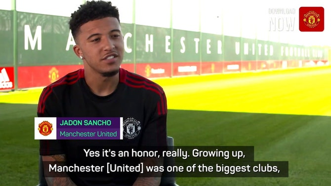 Preview image for Sancho eyes trophies at Manchester United