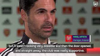 Preview image for Arteta tips 'exceptional' Odegaard to improve Arsenal team-mates