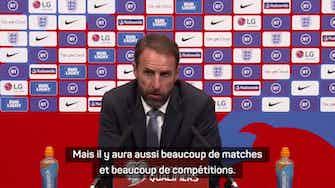 """Image d'aperçu pour Angleterre - Southgate : """"La concurrence avec Ronaldo ? Un défi pour Lingard"""""""