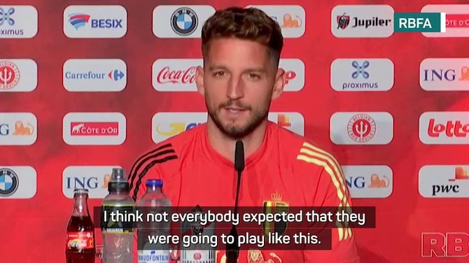 Preview image for Mertens warns Belgium 'Italy have played the best games of Euro 2020'