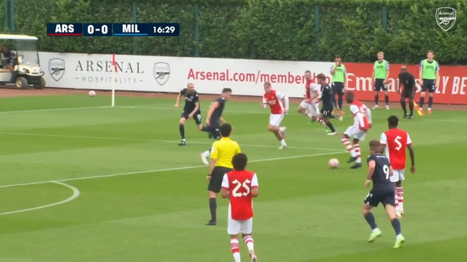 Preview image for Arsenal score four in pre-season friendly
