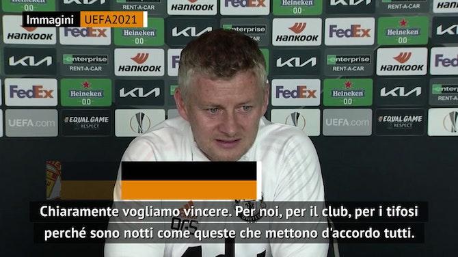 """Solskjaer vuole l'Europa League: """"Non ti premiano per partecipare"""""""