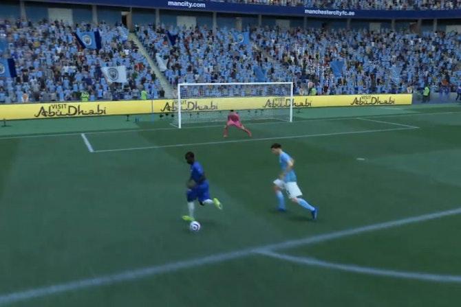La grosse occasion ratée de Kanté contre City (FIFA)