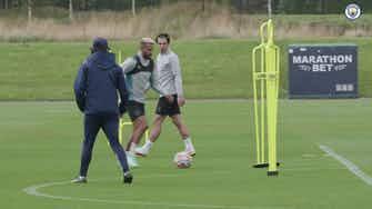 Image d'aperçu pour Manchester City prépare le match de Norwich