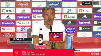 """Imagen de vista previa para Luis Enrique, en titulares: """"Lo que menos me ha gustado ha sido el resultado"""""""