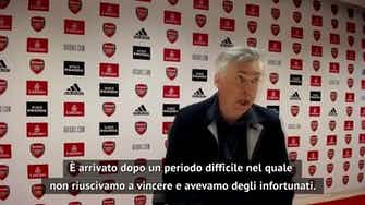 """Anteprima immagine per Ancelotti: """"Vittoria importante"""""""