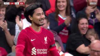 Preview image for Takumi Minamino's pre-season goals for Liverpool