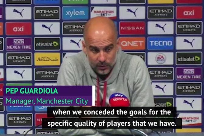 Guardiola refuses to blame Aguero as Tuchel admits 'lucky' Chelsea comeback win