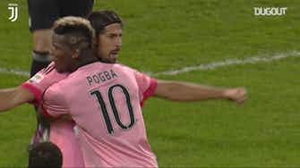 Preview image for Pogba and Khedira secure victory over Sampdoria