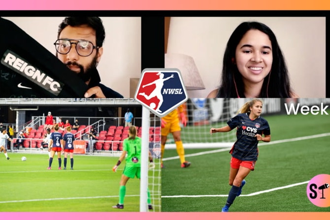Radha & Romel pick their NWSL Goals of Week 2