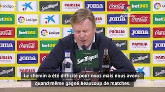 """Image d'aperçu pour 33e j. - Koeman : """"Si nous gagnons nos 6 derniers matches, nous serons champions"""""""
