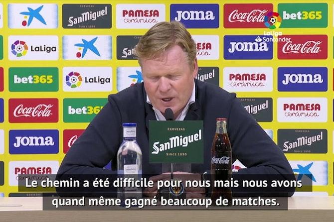 """33e j. - Koeman : """"Si nous gagnons nos 6 derniers matches, nous serons champions"""""""