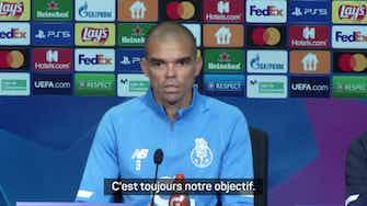 """Image d'aperçu pour Porto - Pepe : """"Notre mission c'est la victoire"""""""