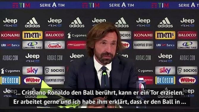 """Vorschaubild für Pirlo: """"Ronaldo ist ein Beispiel für alle"""""""