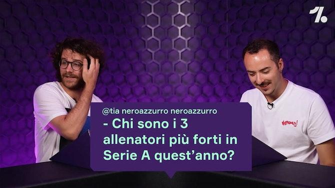 Anteprima immagine per Chi sono i 3 allenatori più forti in Serie A?