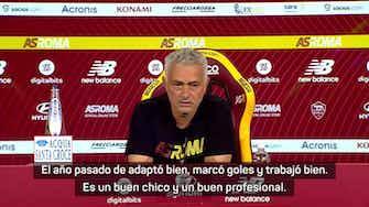 """Imagen de vista previa para Mourinho: """"Mayoral es un buen chico y un buen profesional"""""""