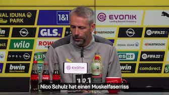 Vorschaubild für Schock beim BVB! Rose bestätigt Haaland-Ausfall