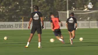 Image d'aperçu pour Le dernier entrainement du Real Madrid avant Majorque