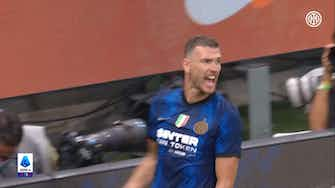 Preview image for Edin Dzeko's debut goal with Inter