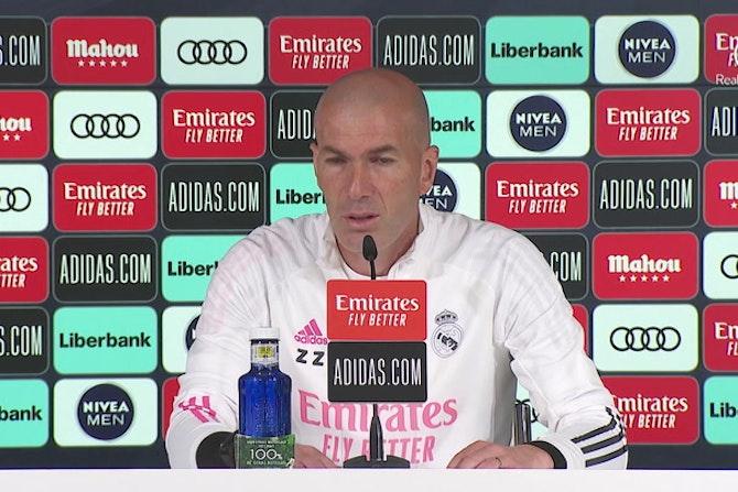 """Zidane, en titulares: """"Me alegro por el presidente"""""""