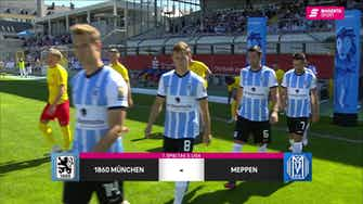 Vorschaubild für TSV 1860 München - SV Meppen (Highlights)