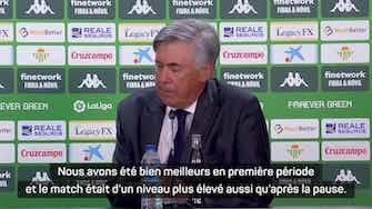 """Image d'aperçu pour 3e j. - Ancelotti sur Benzema : """"Karim a de nouveau été important"""""""