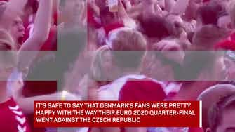 Preview image for Denmark fans revelling in Euros success