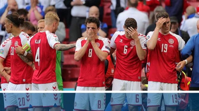 Groupe B - Eriksen victime d'un grave malaise en plein match