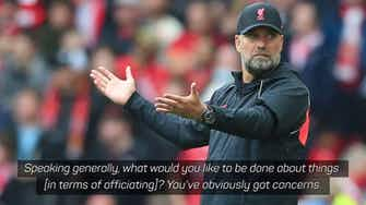 Preview image for 'I'm not the pope of football!' - Klopp rants about officiating