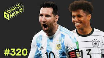 Preview image for Messi makes HISTORY + Real Madrid and Barcelona BATTLE for striker!