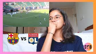 Preview image for REACTING to Barça vs Lyon THRILLER | Women's ICC 2021 [HIGHLIGHTS]