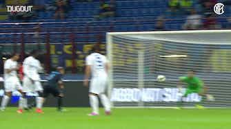 Anteprima immagine per Il formidabile gol in bicicletta di Dani Osvaldo contro l'Atalanta