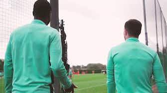 Image d'aperçu pour L'entrainement d'Arsenal avant Aston Villa