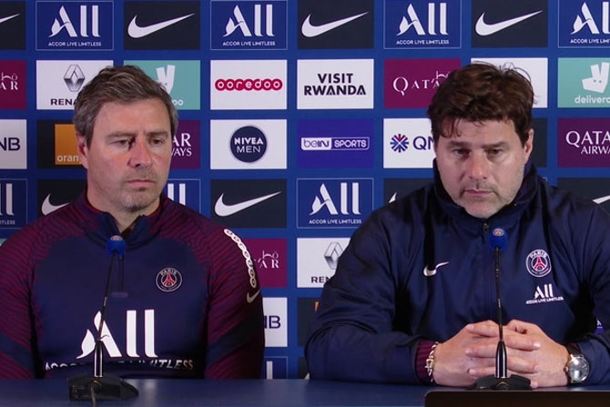 """Pochettino, sobre Mbappé: """"La estadísticas ponen a Kylian como el mejor equipo"""""""