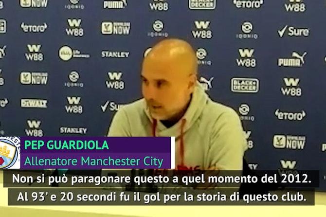 """Aguero, rientro (con gol) per il titolo e Guardiola gongola: """"È tornata la luce"""""""