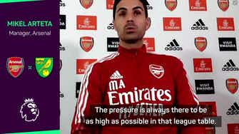 Preview image for No more excuses - Arteta determined to deliver