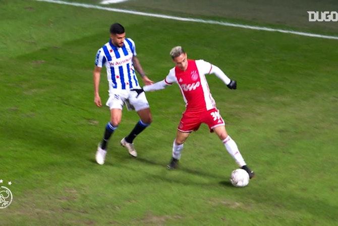 Antony diz que estilo do São Paulo o ajudou em chegada no Ajax