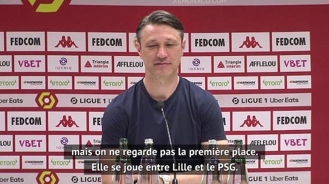 """38e j. - Kovac : """"Il faudrait un gros, gros miracle pour être champion"""""""