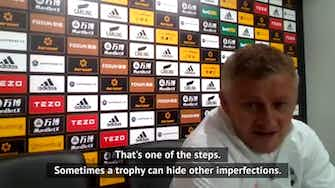 Preview image for Solskjaer eyeing silverware after second place United finish