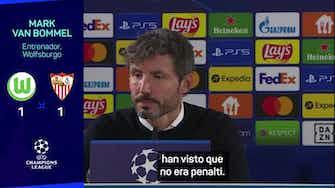 """Imagen de vista previa para Van Bommel, indignado: """"Todos han visto que no era penalti"""""""