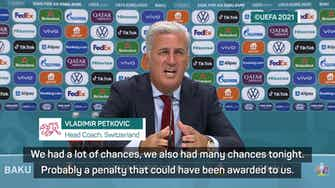 Preview image for Petkovic convinced four points enough for Switzerland to qualify for knockout stage
