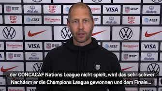 """Vorschaubild für US-Nationaltrainer über Pulisic: """"Er ist bereit"""""""
