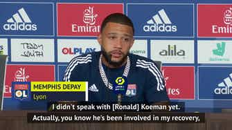 Preview image for Depay 'dreaming of big clubs' but happy at Lyon