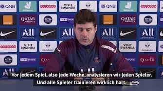 Vorschaubild für Pochettino: Meine Spieler müssen immer bereit sein!