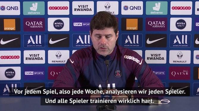 Pochettino: Meine Spieler müssen immer bereit sein!